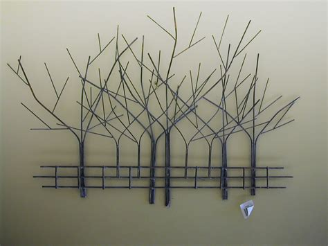 art sculptures for home metal tree wall art metal wall