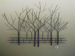art sculptures for home metal tree wall art metal wall With best brand of paint for kitchen cabinets with large birch tree wall art