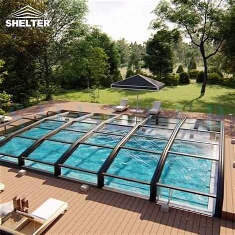 retractable pool enclosures sunshield   aluminum patio awnings pool enclosures patio