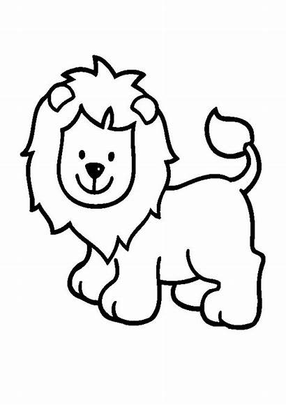 Lion Cartoon Drawing Coloring Clipartmag