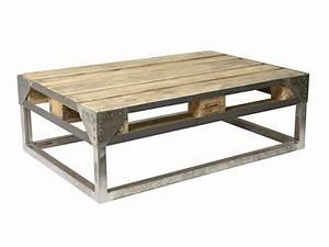 Palette Pas Cher : table basse palette ~ Nature-et-papiers.com Idées de Décoration