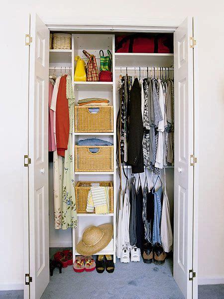 Small Closet Organization Systems  Bedroom  A Master