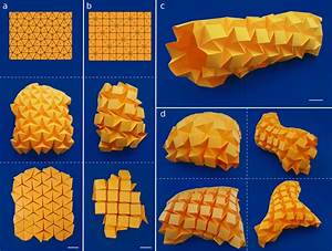 Origami Tessellations   A And B  Triangular Ron Resch And