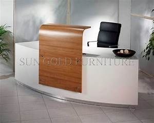 Modern High Glossy Shape Glass Top Wooden Office Reception Table Sz Rt036 Buy Office Modern Reception Desk Design