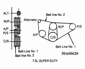 1986 Ford Bronco Belt Diagram Wiring Schematic