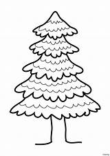 Pine Tree Clip Coloring Drawing Clipart Draw Sketch Cliparts Getdrawings Clipartbest Template sketch template