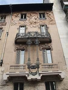 Italy. Casa Maffei, 1909: Turin art nouveau Liberty style ...