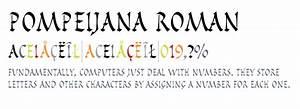 Pompeijana™ Roman - Fonts.com