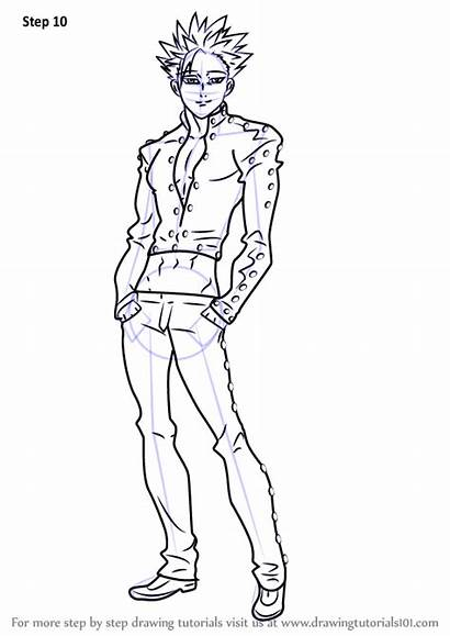Ban Nanatsu Taizai Drawing Draw Sins Deadly