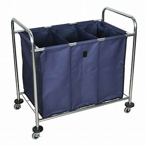 Offex Mobile Heavy Duty Industrial Laundry Sorter Cart ...