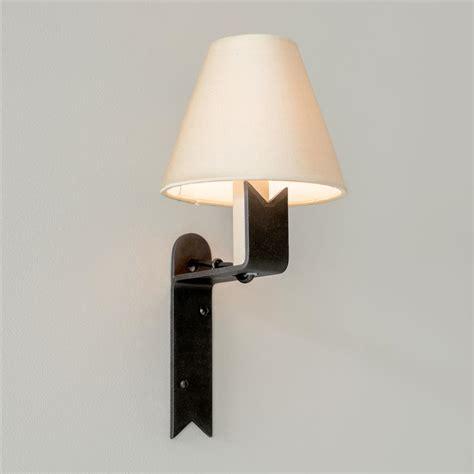 beeswax wall light cottage lighting iron wall light