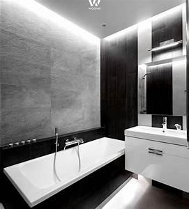 Sektgläser Schwarz Weiß : schwarz wei stil im badezimmer wohnidee by woonio ~ Watch28wear.com Haus und Dekorationen