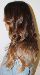 Ombré Hair Auburn : brunette auburn hair cool chestnut ombre hair with caramel tips and subtle blended highlights i ~ Dode.kayakingforconservation.com Idées de Décoration