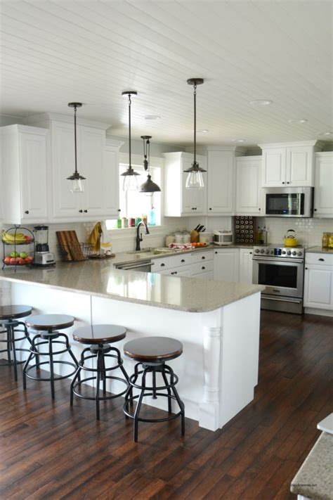 best 25 kitchen peninsula ideas on kitchen