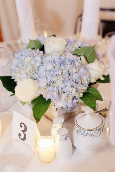 hydrangea centerpieces ideas  pinterest white