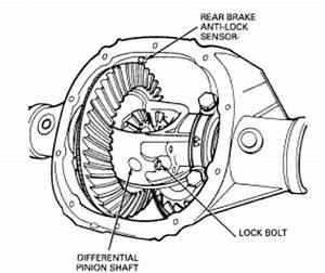 Ford Rear End Diagrams
