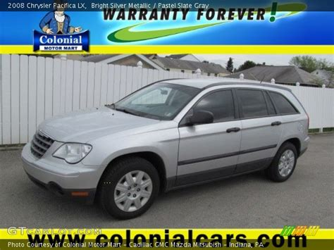 2008 Chrysler Pacifica Lx by Bright Silver Metallic 2008 Chrysler Pacifica Lx