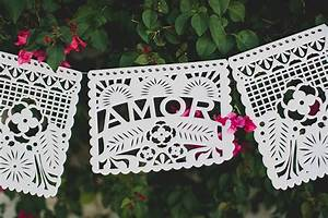 diy papel picado banner with cricut green wedding shoes With diy wedding banner templates
