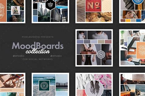 mood boards collection instagram pinterest twitter