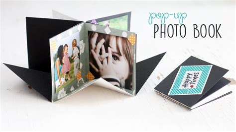 diy pop  photo book youtube