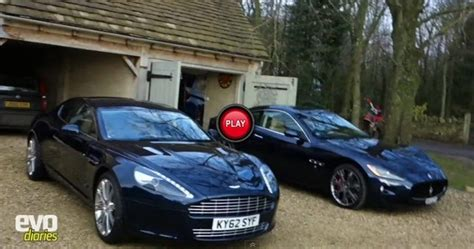 Evo Reviews The Aston Martin Rapide, Compares It To The