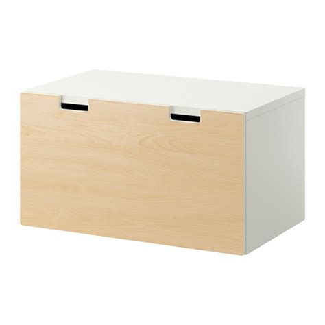 Banc Coffre En Bois Ikea by Stuva Banc Avec Rangement Blanc Bouleau Ikea