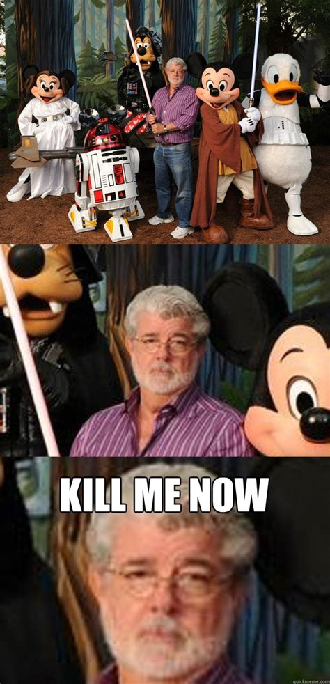 George Lucas Memes - kill me now depressed george lucas quickmeme