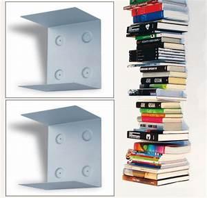 B cherregal unsichtbar m bel design idee f r sie for Bücherregal schwebende bücher