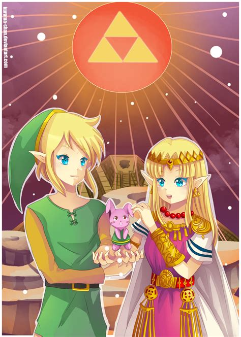 Zelda A Link To The Past By Kurama Chan On Deviantart