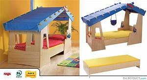 Lit Cabane Pour Enfant : haba espace deco ~ Teatrodelosmanantiales.com Idées de Décoration