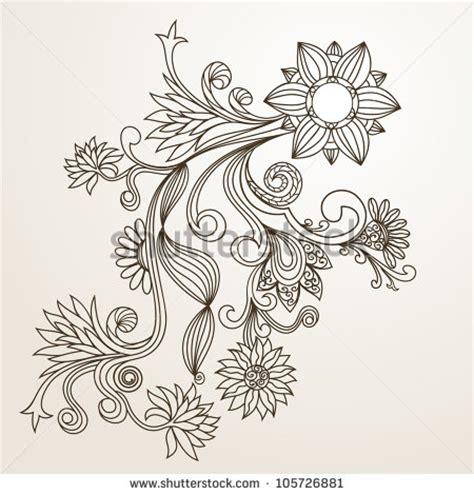 Muster Blumenranke Einfach by Easy Flower Designs To Draw Studio Design Gallery