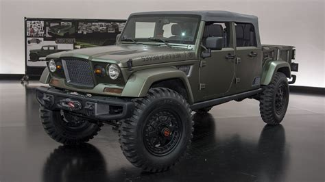 new jeep truck concept 2018 jeep truck concept specs release date price