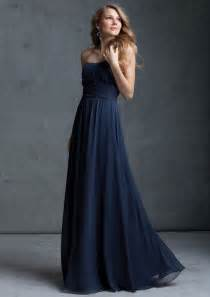 navy bridesmaid dresses navy blue chiffon bridesmaid dresses cherry