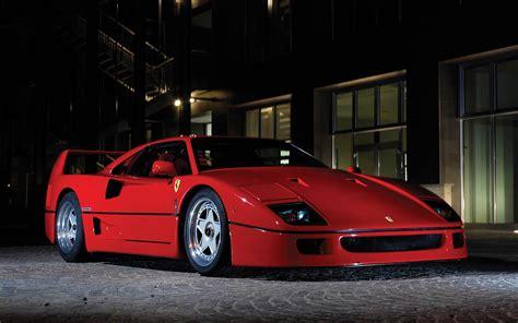 car, Ferrari F40 Wallpapers HD / Desktop and Mobile ...