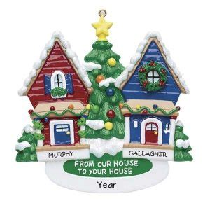 from our house to yours neighbours personalised christmas