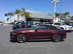 Pre-owned 2018 Ford Mustang EcoBoost Premium Convertible For Sale Near Hawthorne, CA - South Bay ...