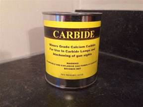 certificate for 1 lb can of calcium carbide miner s grade