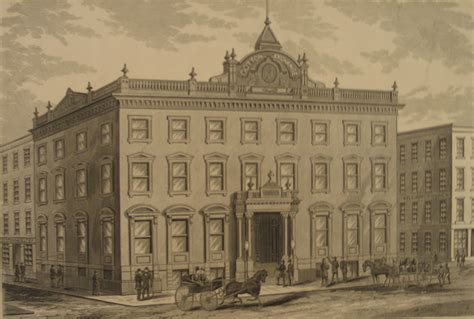 india house nyc one hanover square built c 1850 was the new york cotton