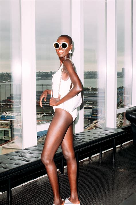grace bol model model grace bol on her summer style and beauty essentials