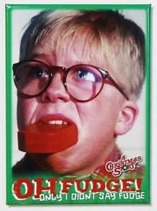 2016 Mustang Reverse Light A Christmas Story Oh Fudge Fridge Magnet Ralph Parker