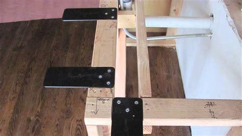 measure  overhang   bar stool area counter