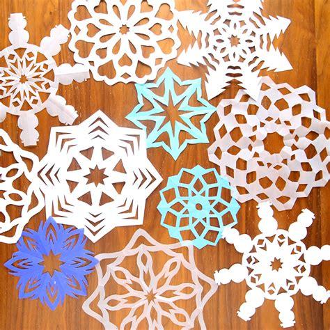 paper snowflakes   autumn