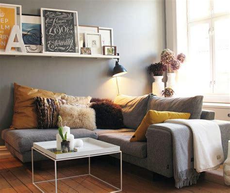 deco salon avec canape gris décoration salon avec canape gris
