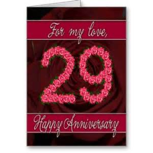 happy marriage anniversary card 29th wedding anniversary michael bradley time traveler