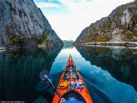 Kayaker Uses Gopro Camera To Capture The Natural Beauty Of