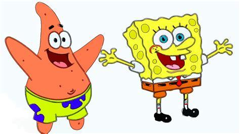Spongebob And Patrick Drawing