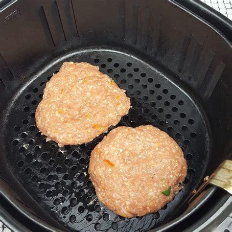 fryer air turkey burgers orange