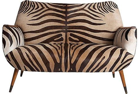 zebra settee zebra settee sitting pretty animal print furniture