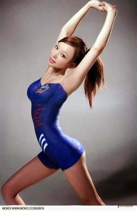 Football Club Babes Asian Bodypaint Models Gallery Footy Fair