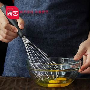 304 Stainless Steel Manual Egg Beater Cream Egg Flour